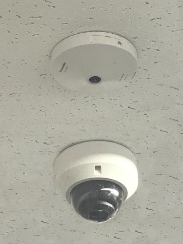 全方位カメラ・ドーム型カメラ