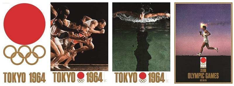 東京 オリンピック ポスター 1964